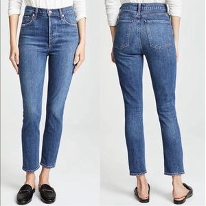 NEW AGOLDE Nico High Rise Slim Fit in Size 28